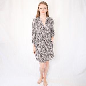 Diane Von Furstenberg Freya Floral Shirt Dress 122